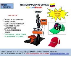 SUBLIMADORA DE GORRAS-ESTAMPA TODO EL FRENTE