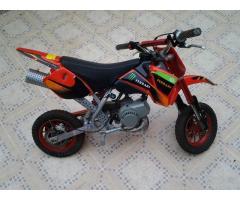 Moto minicross 50 cc