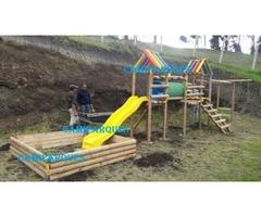 Venta de parques infantimes en madera