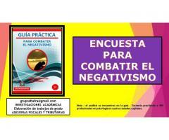 COMBATIR EL NEGATIVISMO
