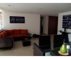 confortable apartamento amoblado en medellin el poblado sector castropol