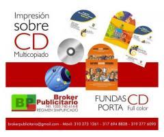 CD DVD MULTICOPIADO E IMPRESIÓN DIRECTA, CARATULAS
