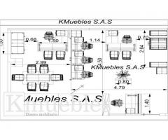 Diseñamos Planos para Fabricacion de Oficinas