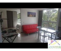 Apartamento amoblado poblado para renta código 209667