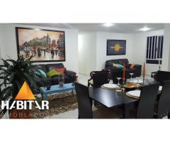 Alquiler temporal de elegante apartamento amoblado, amplio en un exclusivo sector de Bucaramanga