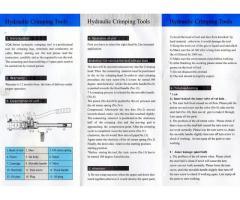 Nueva, Ponchadora hidráulica de cables YQK-300