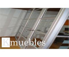Instalacion de divisiones en  Vidrio para Oficinas
