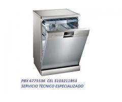 Lava-vajillas Cel 3103211853 Pbx 6775536 Técnicos Especializados