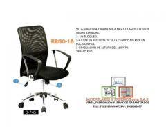 sillas giratorias ergonomicas