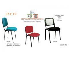sillas fijas para oficinas