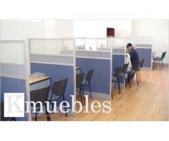 Divisiones y muebles para Oficinas en Bogota