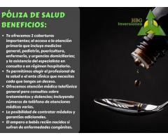PÓLIZA DE SALUD DE ''HBG INVERSIONES''
