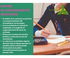 SEGURO DE ARRENDAMIENTO ''HBG INVERSIONES''