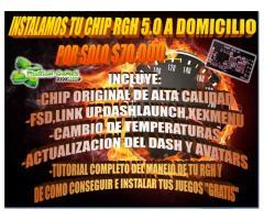 Rgh 5.0,actualizacion,chip,programacion Xbox 360,PS3 A Domicilio