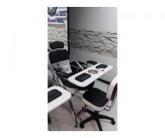 Fabrica de muebles de peluqueria,spa de uñas,barberia, medellin,manizales