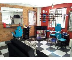 equipos de peluqueria, equipos para barberia, muebles spa de uñas