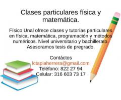 Clases particulares cálculo, matemática, física Funza Facatativa Mosquera
