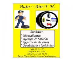 Auto-Aire TH - Montallantas - recarga de baterías Funza Zuame