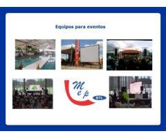 servicio de carro valla, carro pantalla, tarimas, alquiler de equipos para eventos en barranquilla