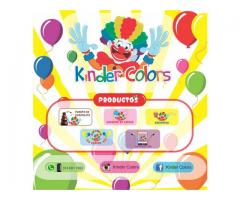 kinder colors cali