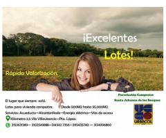 Gran venta de lotes en Villavicencio - Meta  Parcelacion Santa Johanna de los Bosques