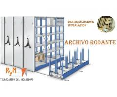 desinstalacion e instalacion de archivos rodantes